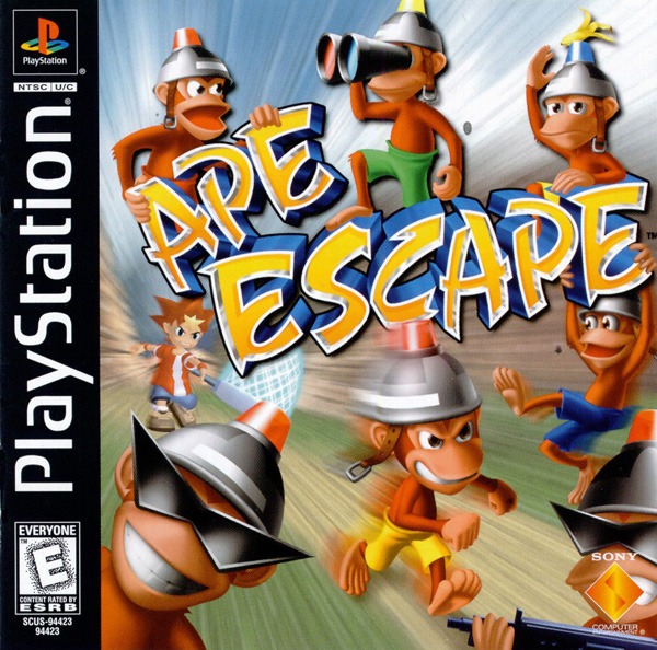 Ape Escape [U] Front Cover